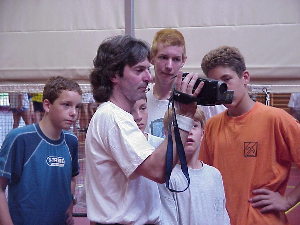 training badminton reaktion