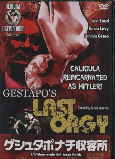 Apologise, but, gestapos last orgy dvd think, that